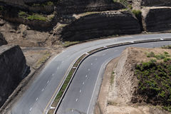 Highway in Ecuador Royalty Free Stock Photo