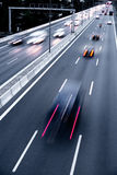 Highway evening Royalty Free Stock Images