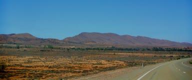 Highway through Flinders Range Stock Photography