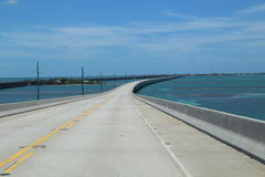 Highway Florida Keys Royalty Free Stock Photography