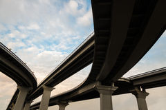 Highway flyover Royalty Free Stock Images