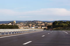 Highway France Stock Images