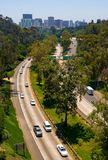 Highway going to San Diego Royalty Free Stock Photos