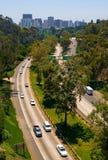 Highway going to San Diego. California royalty free stock photos