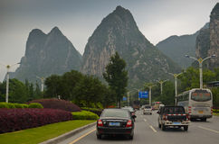 Highway in Guilin, China Stock Images