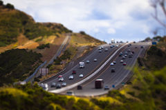 Highway on a Hill Stock Images