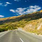 Highway through hills Royalty Free Stock Images