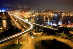 Highway in Hong Kong Royalty Free Stock Photography