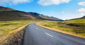 Highway Iceland. Stock Image