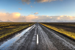 Highway 1, Iceland Royalty Free Stock Photo