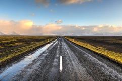 Highway 1, Iceland Royalty Free Stock Photo