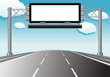 Highway informative display Stock Images