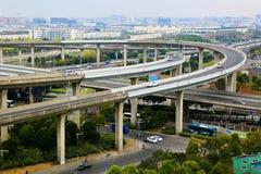 Highway Interchange Stock Photo