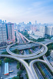 A highway interchange in guangzhou Royalty Free Stock Images