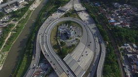 Highway Interchange Royalty Free Stock Photography