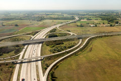 Highway interchange Stock Photos