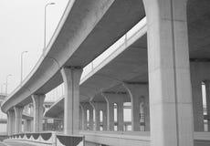 Highway Interchange under Construction Stock Images