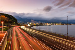 Highway in Japan Royalty Free Stock Photos