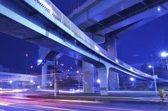 Highway junction Stock Photo