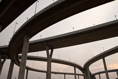 Highway junction Stock Photography