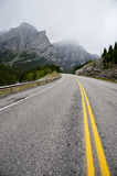 Highway in Kananaskis Country Royalty Free Stock Image