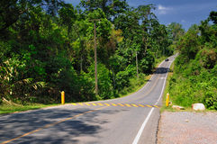 Highway in kaoyai Royalty Free Stock Images