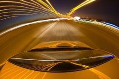 highway kierowcy Zdjęcia Royalty Free