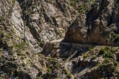 Highway 180, Kings Canyon National Park, California, USA Royalty Free Stock Photos