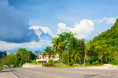 Highway in Krabi Royalty Free Stock Photo