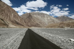 Highway Of Ladakh Royalty Free Stock Photo