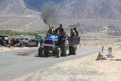 Highway Of Ladakh. Royalty Free Stock Photo
