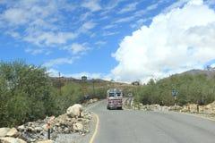 Highway Of Ladakh. stock image