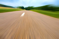 Highway in landscape Stock Photography