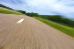 Highway in landscape Stock Image