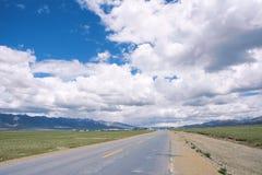 Highway landscape Stock Image