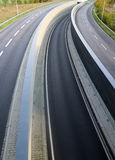 Highway lanes Stock Photography