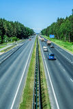 Highway in Latvia Royalty Free Stock Images
