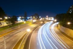 Free Highway Light Trail Stock Photography - 133418342