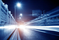 Free Highway Light Trails Royalty Free Stock Photography - 22449917