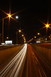 Highway lights Royalty Free Stock Image