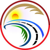 Highway logo Stock Image