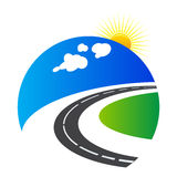 Highway logo Royalty Free Stock Photo