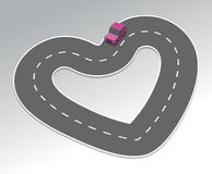 Highway of Love Royalty Free Stock Photos