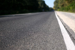 Highway, low depth of field Stock Photos