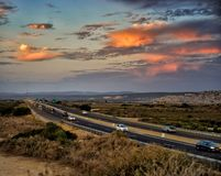 Highway 2 royalty free stock photography