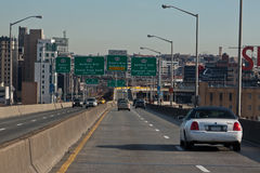 Highway in Manhattan New York City Stock Photography