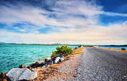 Highway Mexican gulf  Cuba Atlantic ocean  sea Stock Photo