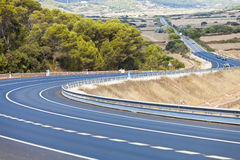 Highway of Minorca Stock Photos