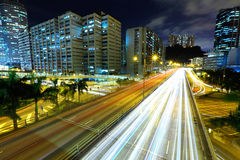 Highway in modern city Stock Photography