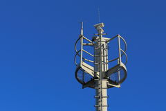 Highway monitoring. Device for monitoring motorway in Austria Stock Photos